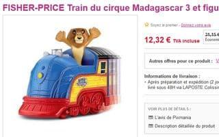 Train du Cirque Madagascar 3