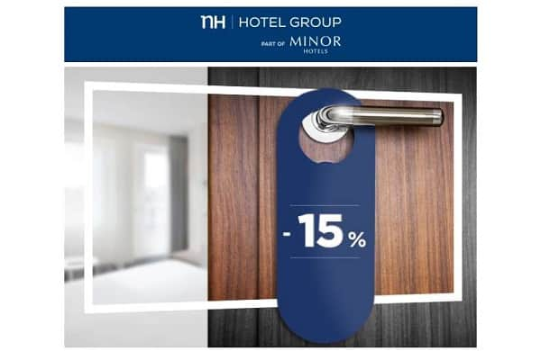 Vente Privée 15% De Remises Sur Les Hôtels Nh Hotels