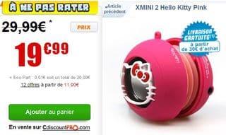 XMINI 2 Hello Kitty Pink