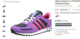 SOLDES baskets Adidas Originals La Trainer K