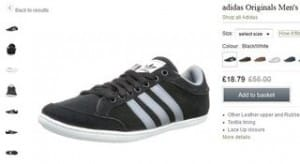 baskets Plimcana Low Adidas Originals a 23 euros