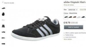 baskets Plimcana Low Adidas Originals a 23 euros