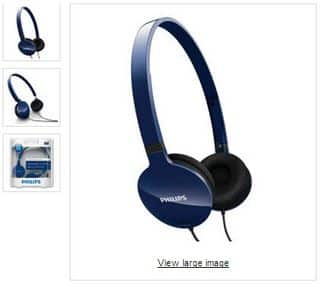 casques audio Philips SHL1700/10  à 10 euros