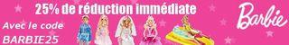 code promo Barbie Cdiscount