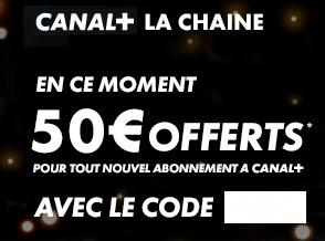 code promo Canal plus janvier