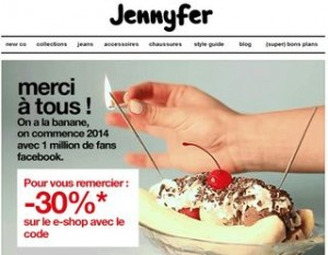 code promo Jennyfer 2014