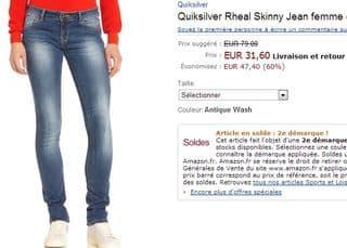 jean femme Rheal Skinny