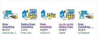 jeu Draw Something Hasbro prix