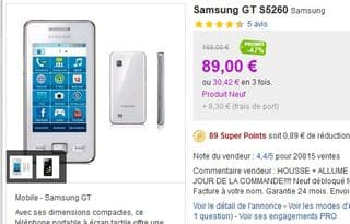 mobile Samsung Player city