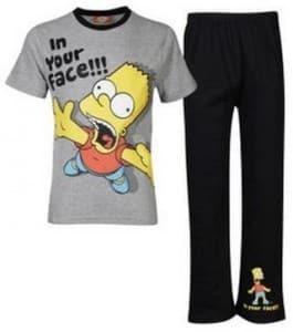 pyjama simpson pas cher