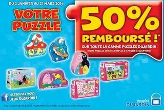 Votre puzzle dujardin 50 rembours for Charlotte dujardin 50 50