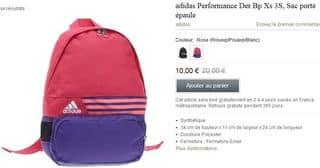 sac a dos Adidas Performance