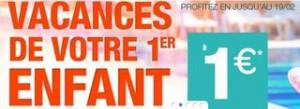 sejour enfant a 1 euro ete 2014 Carrefour