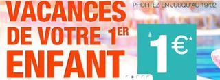 sejour enfant a 1 euro ete 2014 Carrefour 1 euro le séjour de votre enfant en Juillet / Aout 2014