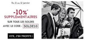 soldes galeries lafayette code promo 10 pourcent