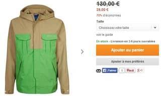 veste Adidas Originals pour moins de 40 euros