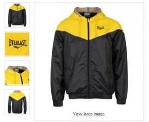 veste Everlast a moins de 12 euros.
