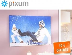 10 euros offertsToile Photo Pixum