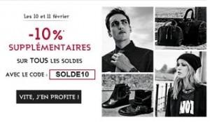 10 pourcent derniere demarque Galeries Lafayette