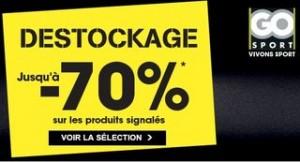 Destockage Go Sport 2014