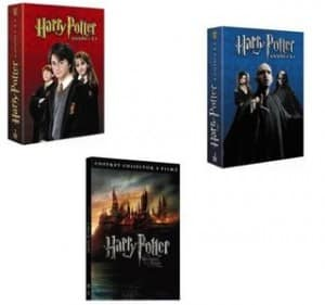 Integrale Harry Potter en DVD 19 euros