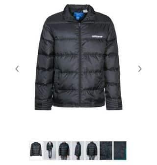 SOLDES : doudoune noir Adidas Originals à 60 euros au lieu de 140 euros (duvet/plumes) S, M et L