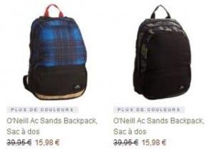 Sac a dos O Neill a moins de 16 euros