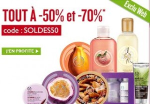 Soldes The Body Shop code promo