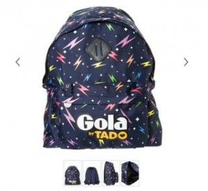 sac à dos Gola HARLOW LIGHTNING
