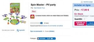 Spin Master - Pif party pas cher