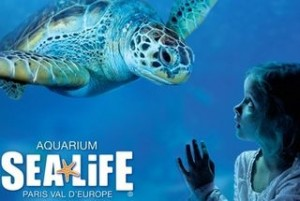 billets entree reduit aquarium Sea Life Paris