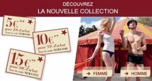 code promo DIM 5 a 15 euros de remises