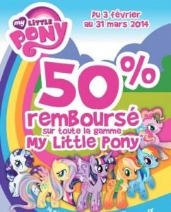 remboursement My Little Pony