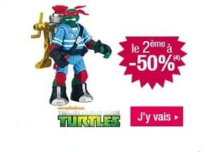 second Tortues Ninja achete a moitie prix