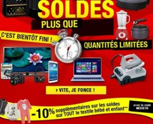 soldes Auchan code promo 2014