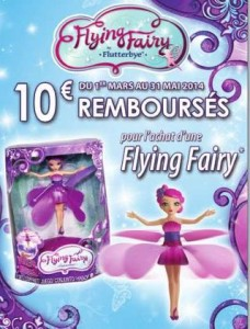 10 euros rembourses Fee Volante Flying Fairy