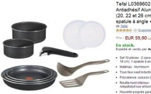 10 pieces Ingenio Tefal Amazon