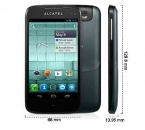 Alcatel One Touch 997D ardoise pas cher