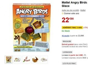 Angry Birds Sur Glace moins cher
