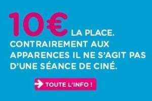 Billet TGV OUIGO a 10 euros