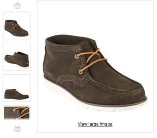 Chaussures montantes Daim Kickers Urbo Trapper