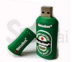 Clé USB 16Go Heineken à moins 8 euros