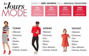 De 10 à 100 euros de remises immédiates sur la mode Amazon