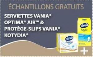 Echantillon Vania gratuit