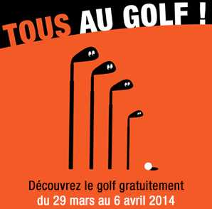 Initiation Golf gratuite Tous Au Golf 2014