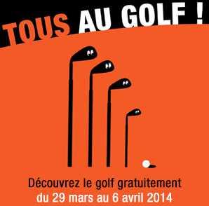 Initiation Golf gratuite Tous Au Golf 2014