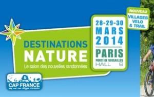 Invitation gratuite salon Destination Nature