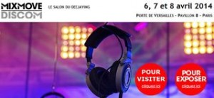 Invitation gratuite salon du deejaying (mixmove Discom)