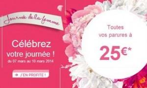 Journée de la femme ! Parure DIM à 25 euros