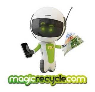 MagicRecycle Gagnez de l'argent en revendant votre ancien téléphone